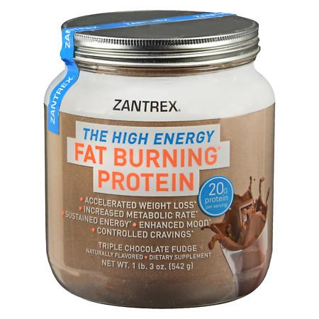 Zantrex Fat Burning Protein Chocolate - 18 oz.