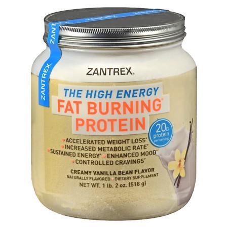 Zantrex Fat Burning Protein Vanilla - 18 oz.