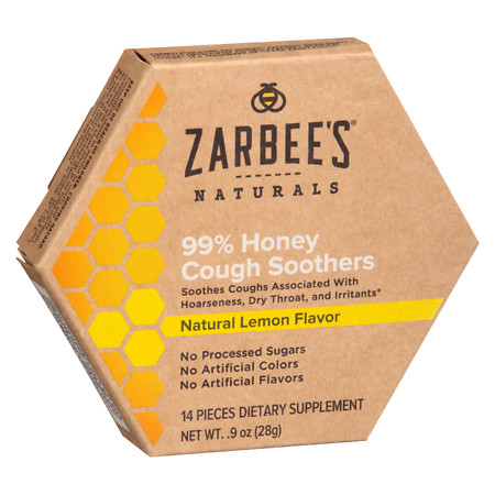 ZarBee's Naturals Soothers Natural Lemon Flavor - 1 ea