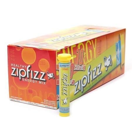 Zipfizz Healthy Energy Mix, Tubes Citrus - 0.4 oz.