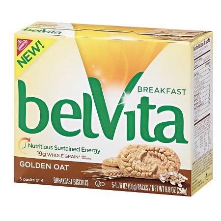belVita Breakfast Biscuits Golden Oat - 8.8 oz.