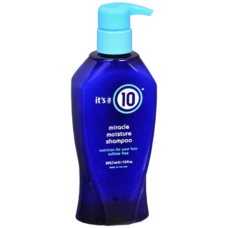 it's a 10 miracle moisture shampoo - 10 fl oz