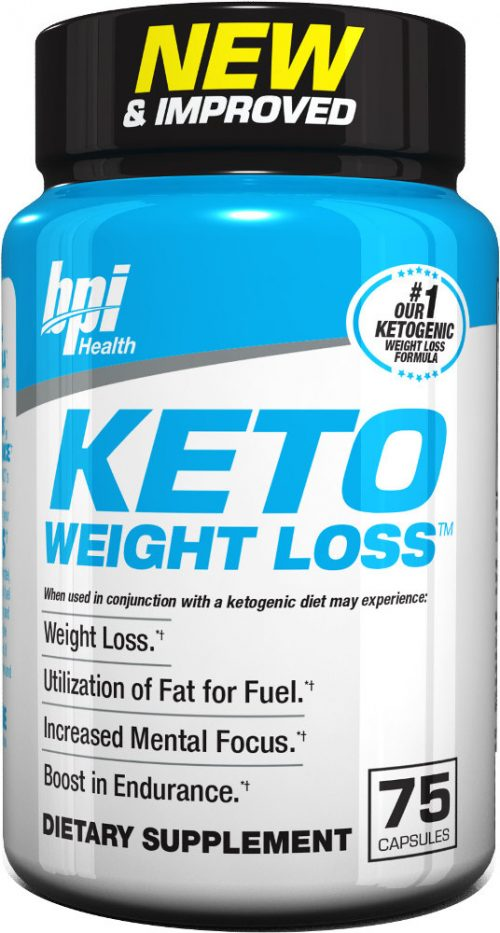 BPI Sports Keto Weight Loss - 75 Capsules