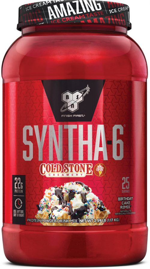 BSN Syntha-6 - Cold Stone Creamery 2.59lbs Birthday Cake Remix