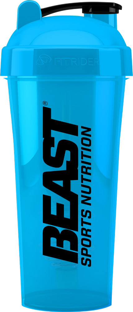 Beast Sports Nutrition M&S/Beast Co-Branded Shaker - 28oz Blue