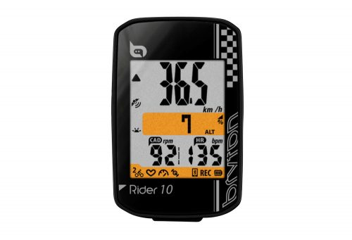 Bryton 10C GPS Cyclometer - black, one size