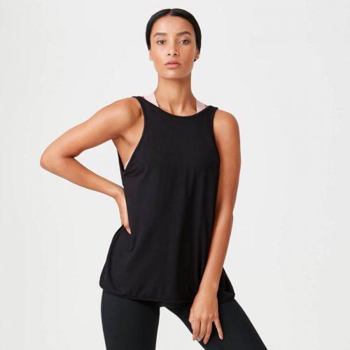 Charm Vest - Black - XS