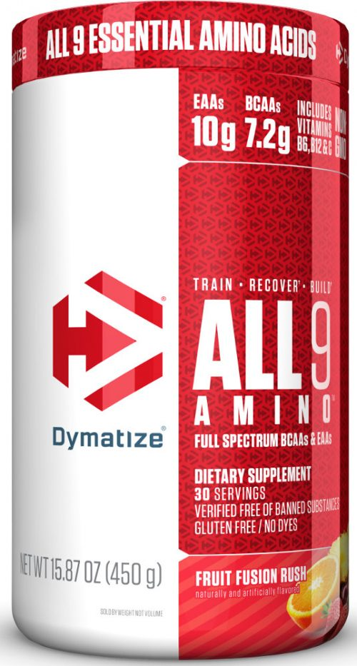 Dymatize ALL 9 AMINO - 30 Servings Fruit Fusion Rush