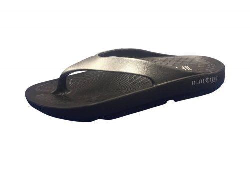 Island Surf Company Wave Sandals - Women's - black/silver, 6