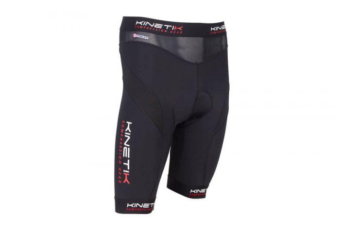 Kinetik Compression Cycling Shorts - Men's - black, x-large