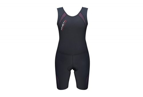 Kinetik Compression Triathlon Suit - Women's - black/pink, medium