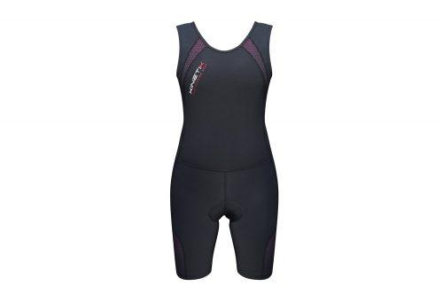 Kinetik Compression Triathlon Suit - Women's - black/pink, small