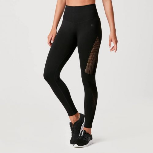 Luxe Seamless Leggings - Black - L