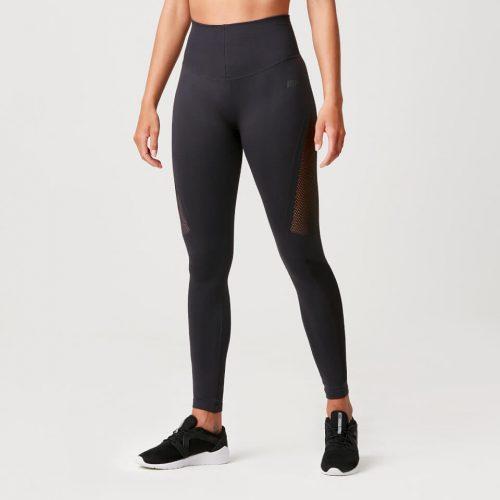 Luxe Seamless Leggings - Slate Grey - L