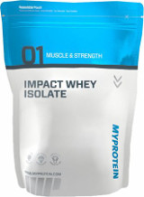 Myprotein Impact Whey Isolate - 2.2lbs Natural Vanilla