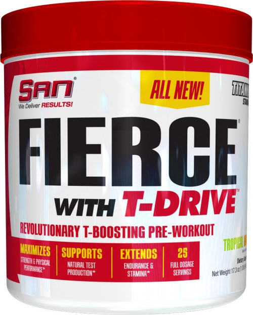 SAN Fierce with T-Drive - 25 Servings Tropical Mango