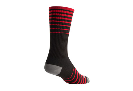 "Sock Guy Cascade 8"" Black Crew Socks"