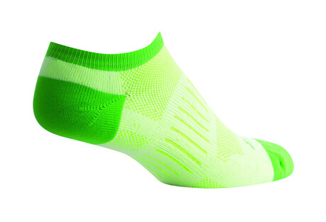 Sock Guy Sprint Green No Show Socks - Women's
