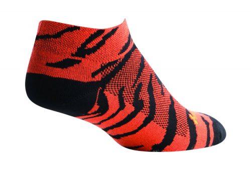 Sock Guy Tyger Socks - Women's - orange/black, s/m