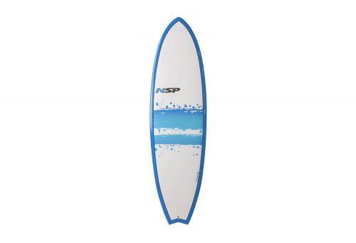 Surftech NSP 03 Hybrid Short Surf EF 6'0 Surfboard - blue, one size