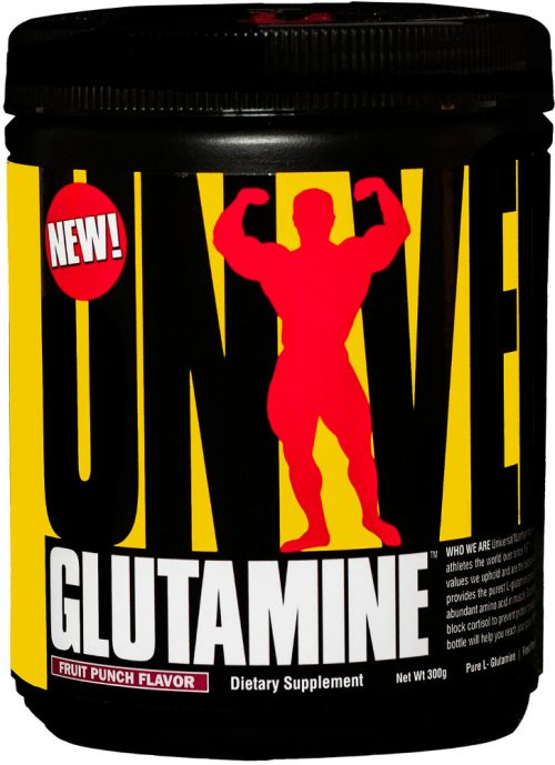Universal Nutrition Glutamine Powder - 300g Fruit Punch