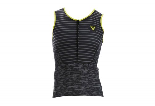 Volare Sublimated Tri Singlet - Men's - black/yellow, medium