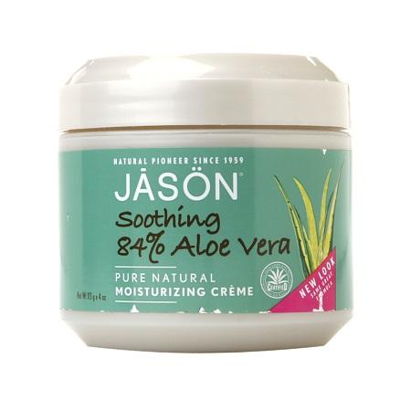 JASON Moisturizing Creme, Soothing 84% Aloe Vera - 4 oz.