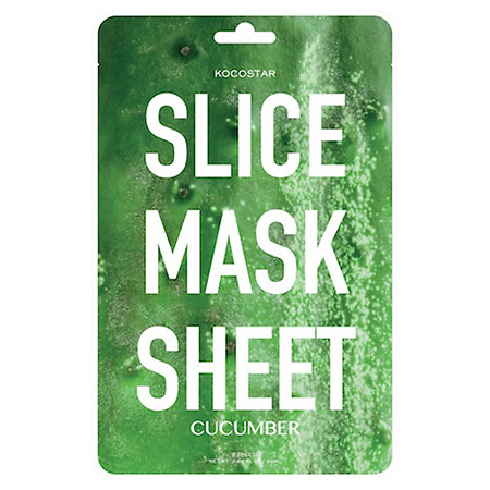 Kocostar Slice Mask Sheet Cucumber - 1 oz.