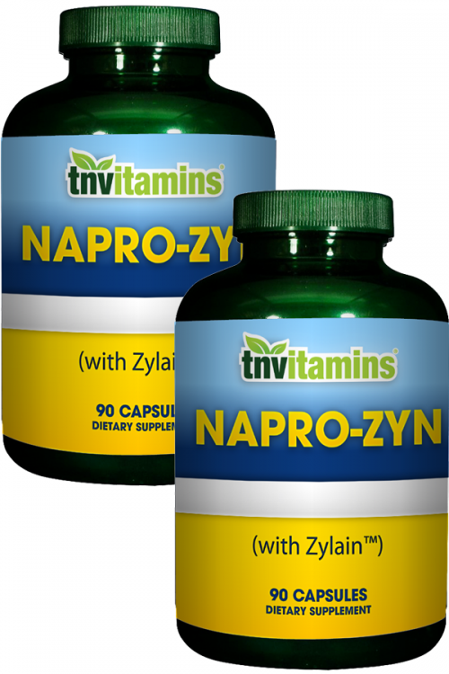 Napro-Zyn With Turmeric, Bromelain, and Boswellia
