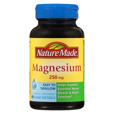 Nature Made Magnesium 250mg - 90 ea