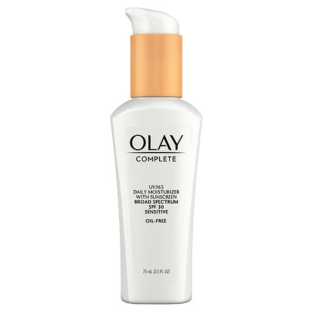 Olay Complete All Day Moisturizer with Broad Spectrum SPF 30, Sensitive - 2.5 fl oz