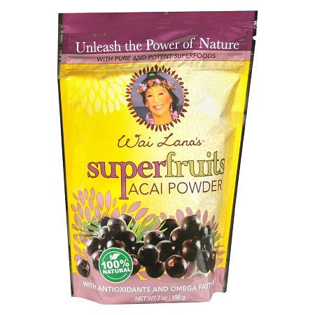 Wai Lana Super Fruits Powder Dietary Supplement Acai - 7 oz.