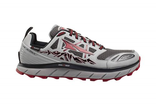 Altra Lone Peak Neoshell 3 Shoes - Men's - gray/red, 9