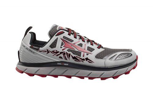 Altra Lone Peak Neoshell 3 Shoes - Men's - gray/red, 9.5