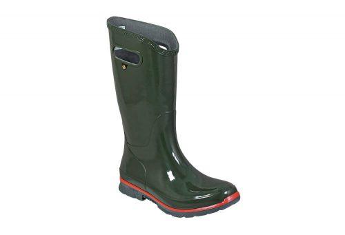 BOGS Berkely Solid Rain Boots - Women's - dark green, 8