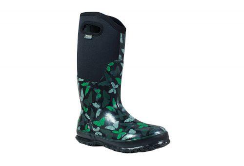BOGS Classic Butterfly Rain Boots - Women's - black multi, 7