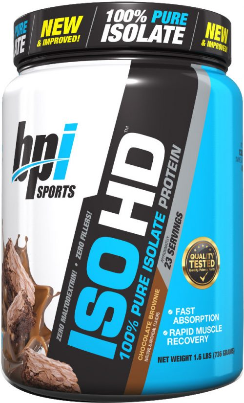 BPI Sports ISO HD - 5lbs Chocolate Brownie