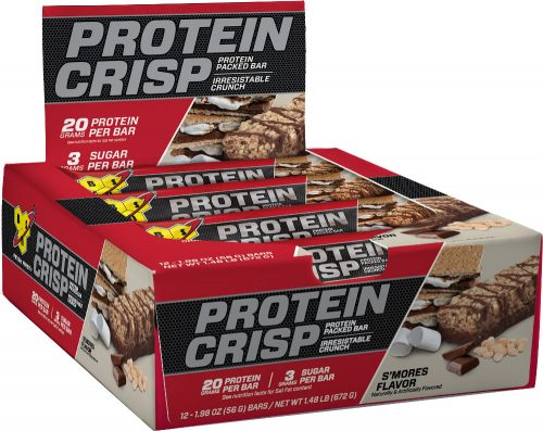 BSN Syntha-6 Protein Crisp Bar - Box of 12 S'Mores