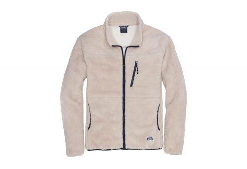 CIRQ Mt. Whitney Hi-Pile Fleece Jacket - Men's - natural / midnight blue, small