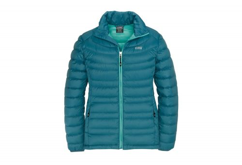 CIRQ Shasta Down Jacket - Women's - deep teal, large