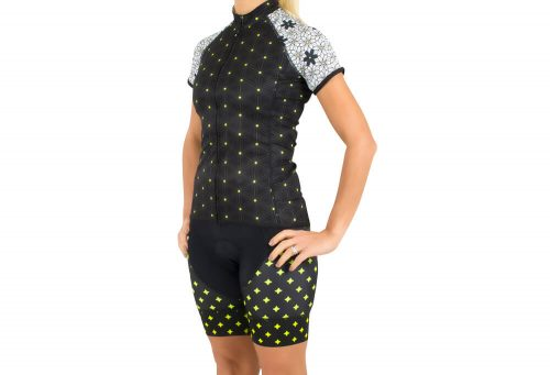 Canari Dolce Jersey - Women's - miss daisy/black, large