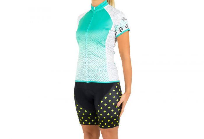 Canari Dream Jersey - Women's - lace/robin's egg blue, large