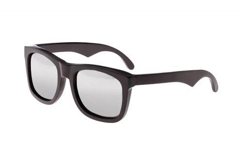 Earth Wood Hampton Polarized Sunglasses - ebony, one size
