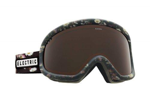 Electric Charger Goggle - dark floral/brose, adjustable