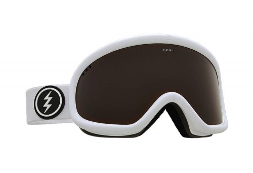 Electric Charger Goggle - gloss white/brose, adjustable