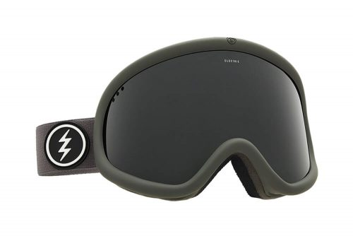 Electric Charger XL Goggle - jet black, adjustable