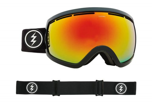 Electric EG2.5 Goggle - Asian Fit - gloss black/brose/red chrome, adjustable