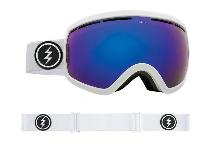 Electric EG2.5 Goggle - Asian Fit - gloss white/brose/blue chrome, adjustable