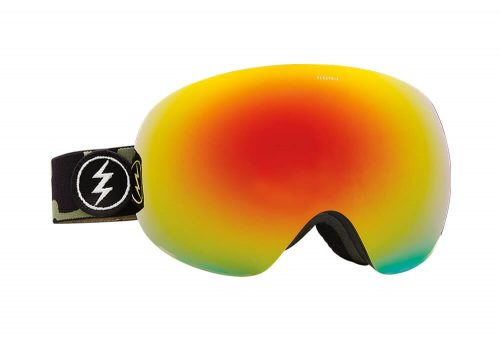 Electric EG3 Goggle - camo/brose/red chrome, adjustable