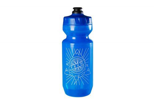 Fox Purist FLS Water Bottle - 22oz - blue, one size